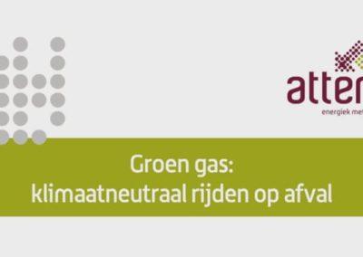 Groengas klimaatneutraal rijden op afval