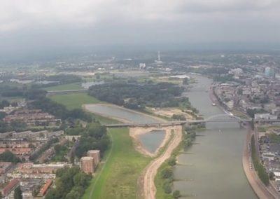 Oldenkamp locatie Arnhem, Uiterwaardvergraving Meinerswijk